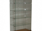Витрина НЕБО 850/4 Верх ДСП подсветка - Архивное и складское оборудование