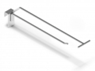 Крючок на штангу одинарный с ценникодержателем - Архивное и складское оборудование