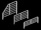 Ограждение разделитель - Архивное и складское оборудование