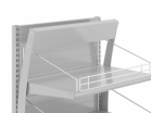Панель рекламная для стеллажа-экспозитора - Архивное и складское оборудование