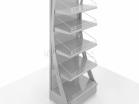 Стеллаж-экспозитор с рекламной панелью - Архивное и складское оборудование